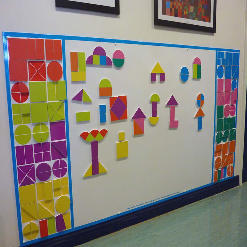 magnetic shapes wall