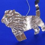 Marvellous metal lion