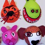 Heathmount animal masks