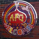Al Furqan entrance mosaic